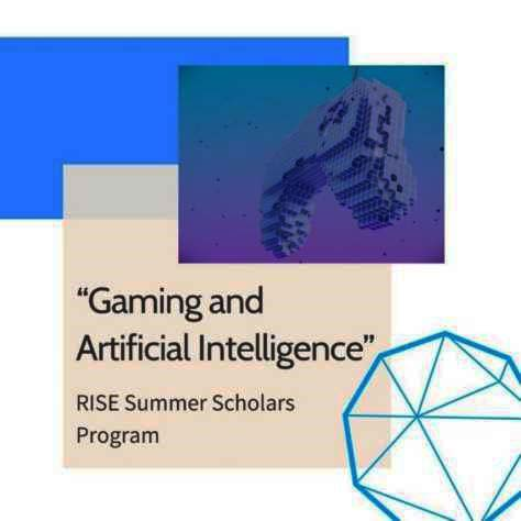 RISE: Θερινό σχολείο «Gaming and Artificial Intelligence» για μαθητές 20 - 24 Ιουλίου 2020