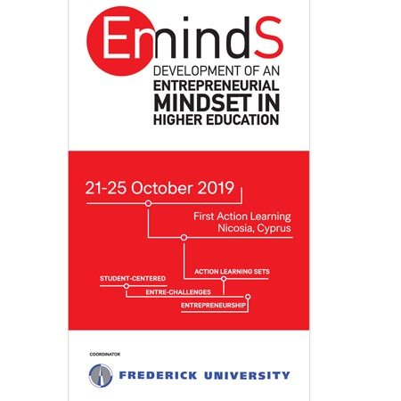 Παν. Frederick: 1η Εκπαιδ. Δραστηριότητα Development of an Entrepreneurial Mind Setin Higher Education