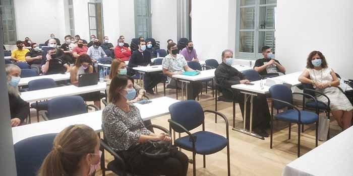 Eκδήλωση ενημέρωσης φοιτητών και προσωπικού της Θεολογικής Σχολής Εκκλησίας Κύπρου