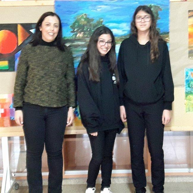 1ο και 2ο Βραβείο Ποίησης στο Γυμνάσιο Αγίου Στυλιανού Στροβόλου