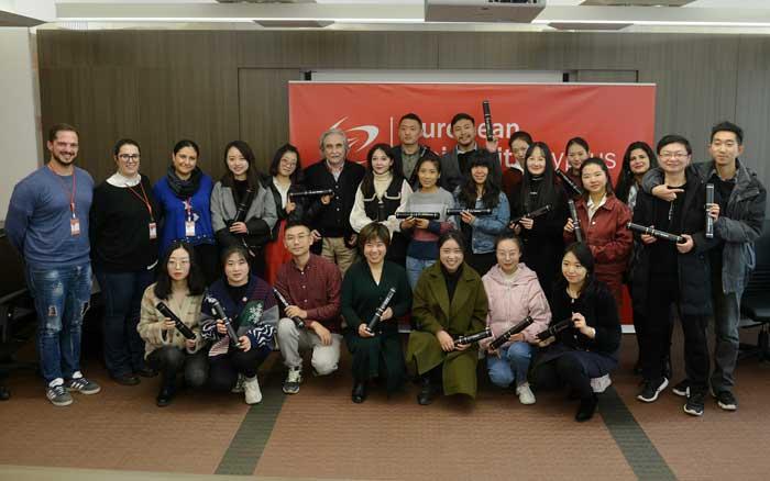Μεταπτυχιακοί φοιτητές από την Κίνα ολοκλήρωσαν τις  σπουδές τους στο Ευρωπαϊκό Πανεπιστήμιο Κύπρου
