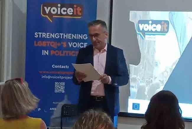 Ενδυναμώνοντας τη φωνή της ΛΟΑΤΚΙ+ κοινότητας στην πολιτική