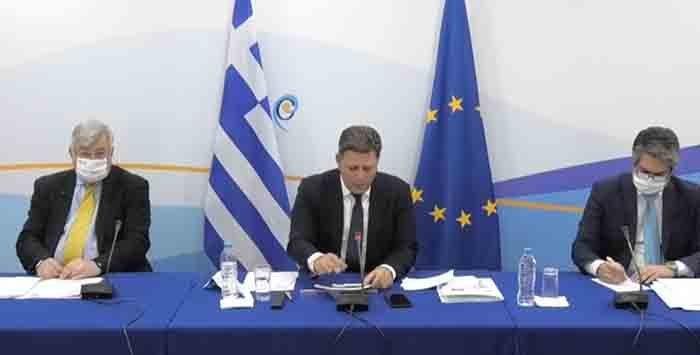 Ο Καθ. Περράκης στην τελετή παράδοσης της Προεδρίας της επιτροπής Υπουργών του Συμβουλίου Ευρώπης