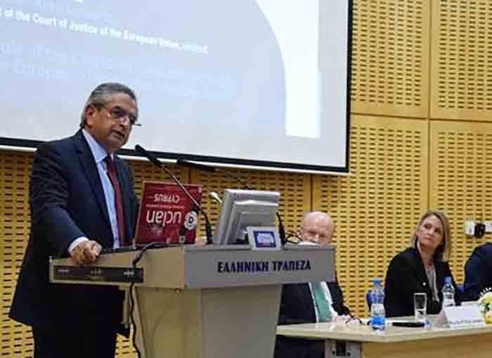 Επίτιμο διδακτορικό στον τέως Γ. Εισαγγελέα Κ. Κληρίδη θα απονεμηθεί από το Πανεπ. UCLan Cyprus