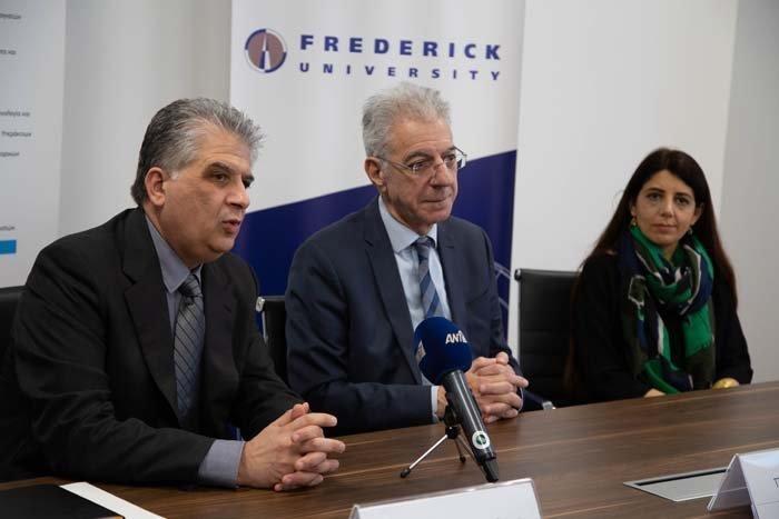 Επίσκεψη Προδρόμου στο Πανεπιστήμιο Frederick