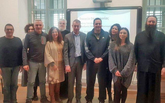 Ο Επίτροπος Εθελοντισμού μίλησε στους φοιτητές της Θεολογικής Σχολής της Εκκλησίας της Κύπρου