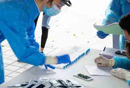 Σημεία δειγματοληψίας για τον έλεγχο με rapid tests τη Δευτέρα 30 -11-2020