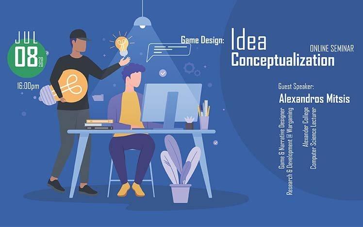 Alexander: Διαδικτυακές Διαλέξεις με θέμα το Game Design
